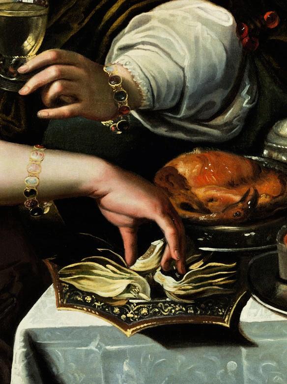 Allegorie Du Gout, Attribué à A. Janssens (anvers, 1575-1632), époque XVIIe