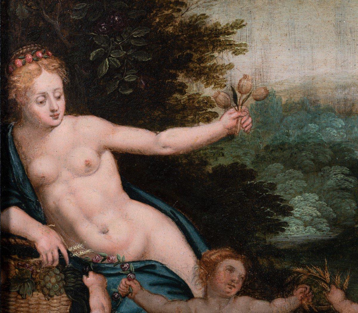 Allégorie De L'amour, Attribué à Hendrick De Clerck, XVIIe Siecle-photo-4