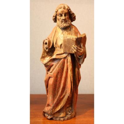 17th Flemish Oak Carving Of Saint Paul