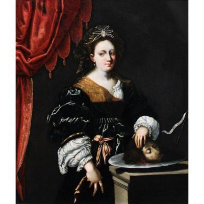 Peinture Sur Ardoise, école De Vérone Début Du XVIIe Siècle