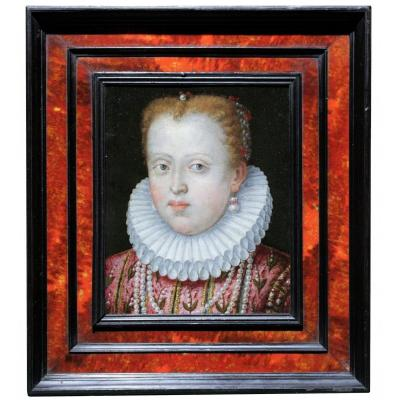 Portrait De Marguerite De Gonzague, Attribué A Lavinia Fontana, Vers 1578