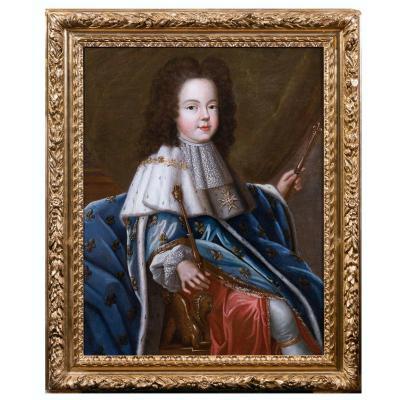Portrait De Louis XV Enfant, Atelier De Pierre Gobert, Vers 1716