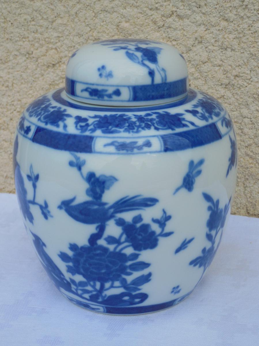 Pot à Gingembre à Décor Chinois Porcelaine De Limoges, Bernardaud Et Cie