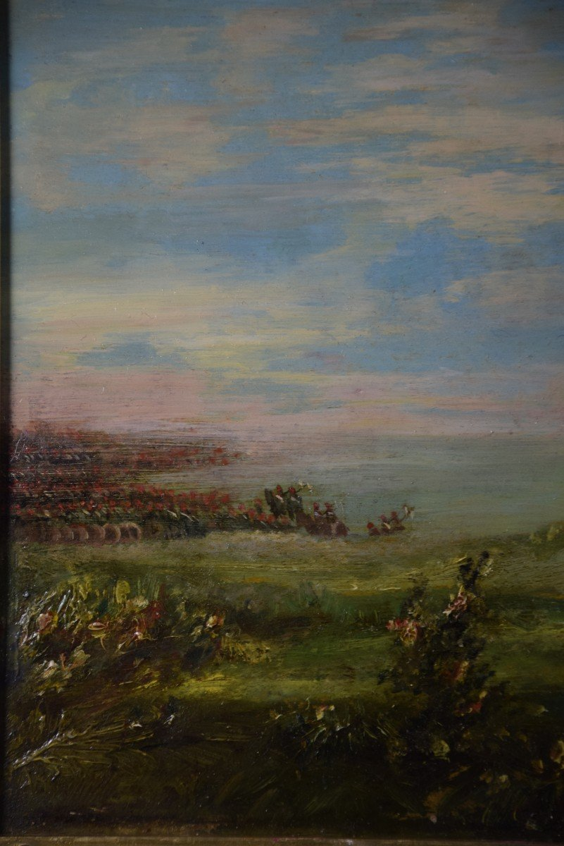 Jean Alexandre Couder, The Farewells Of General Bazaine, Metz 1870, Oil On Panel-photo-3