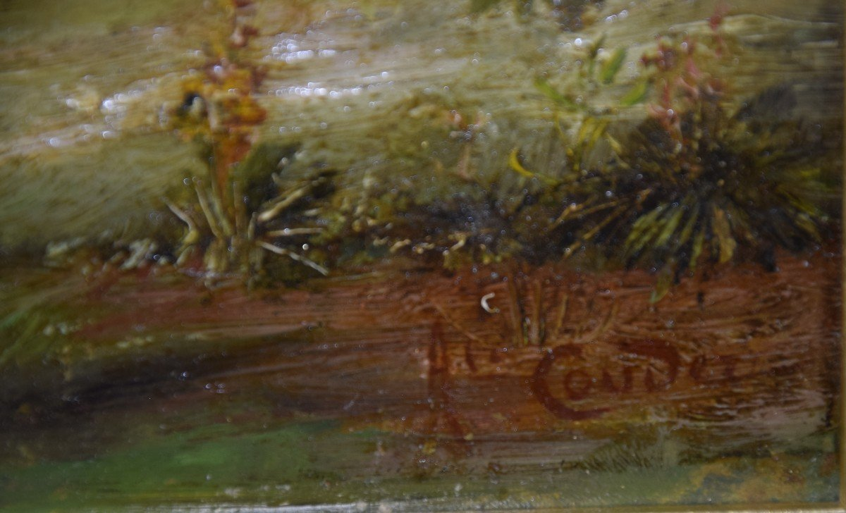 Jean Alexandre Couder, The Farewells Of General Bazaine, Metz 1870, Oil On Panel-photo-4