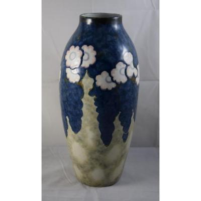 Grand vase de Camille Tharaud ,porcelaine de Limoges