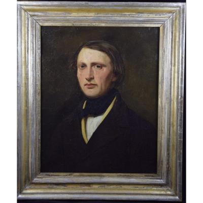 Portrait Of An Elegant Man Circa 1830