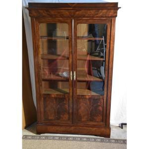 Louis Philippe Library / Mahogany Restoration From Cuba, Nineteenth