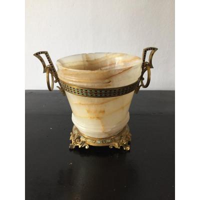 Vase Onyx «alphonse Giroux»