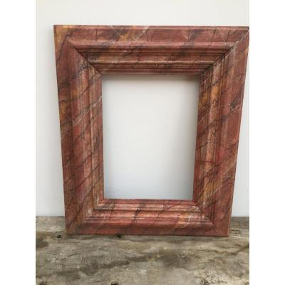 Faux Marble Frame