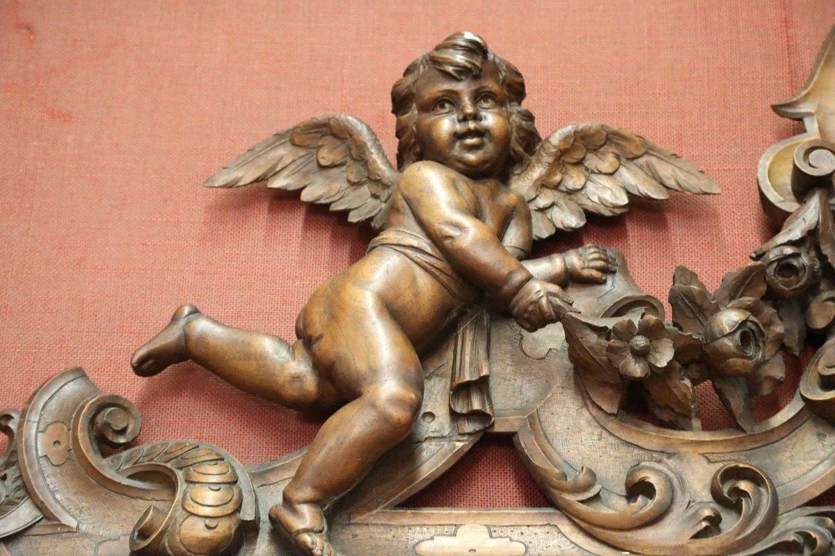 Exceptionnel Buffet En Noyer Richement Sculptés Vers 1880 Style Renaissance -photo-2