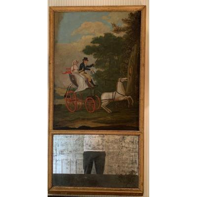 Trumeau  fin XVIII e