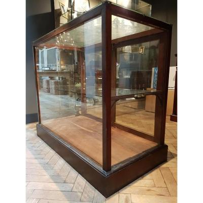 Pair Of Shop Counters Vitrine