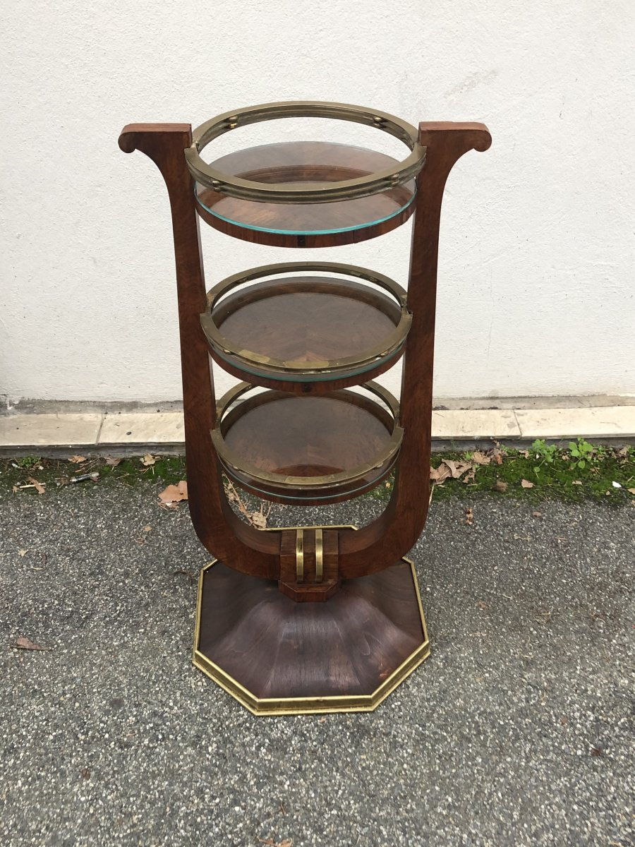 French Stamped Occasional Table Circa 1930
