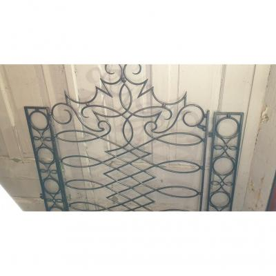 1940s Wrought Iron Grille