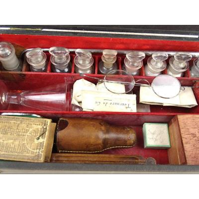 Geological Research Kit Of The Alvergniat Brothers At The End Of The 19th Century