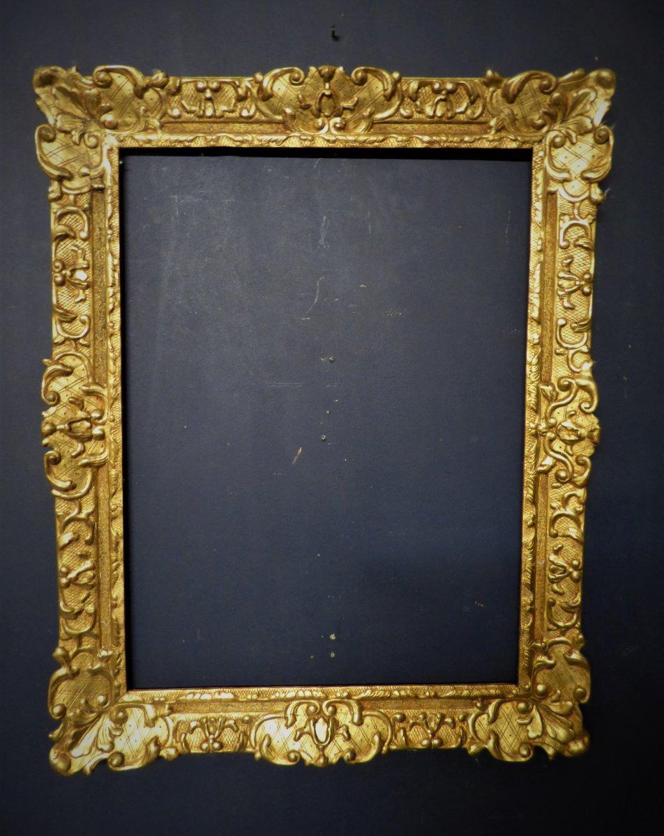 18th Golden Wood Frame
