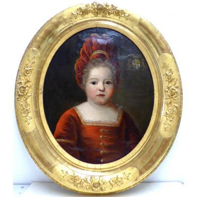 Portrait Du 18ème Siecle