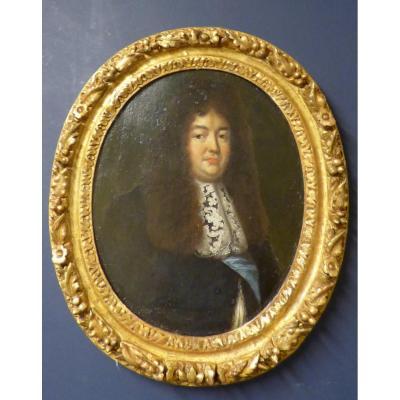 Portrait 17ème à Vue Ovale