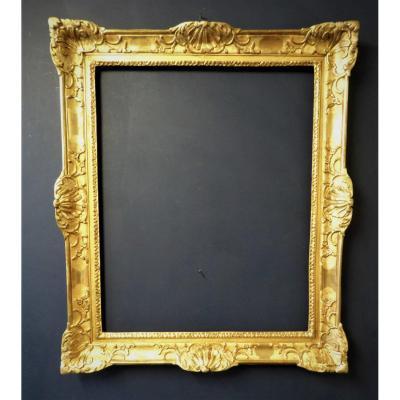 Cadre en Bois doré d'époque Louis LV