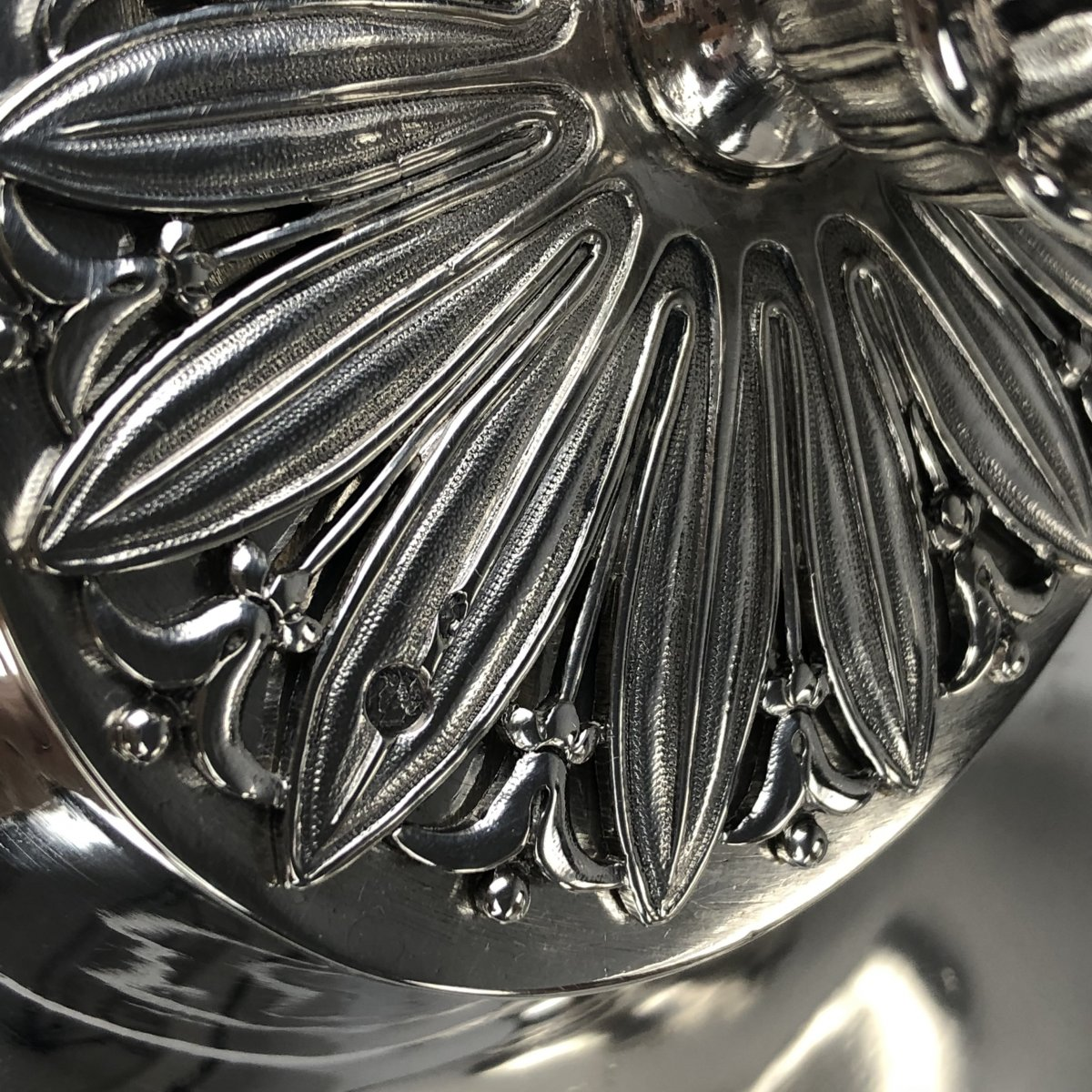 Soup Tureen In Silver, Empire Period, By Odiot In Paris.-photo-1