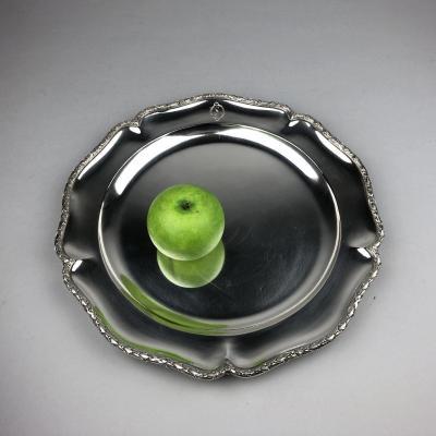 Silver Dish By La Maison Moutot In Paris.