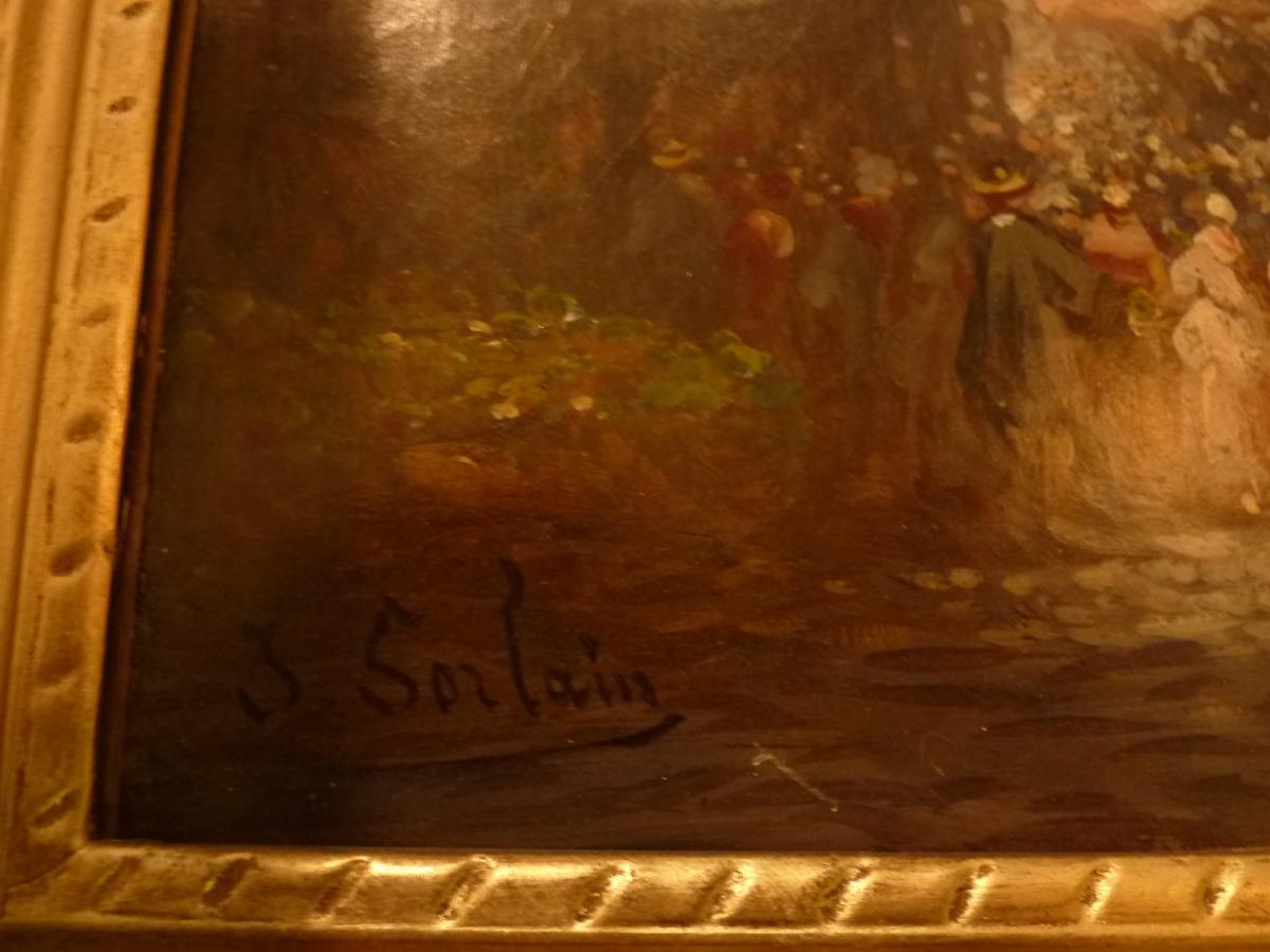 Tableau signé SORLAIN-photo-5