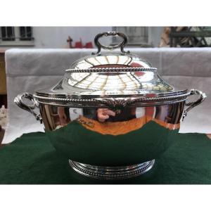 Soup Tureen Sterling Silver Hallmark Minerva 1st Title Style Lxvi Pearl