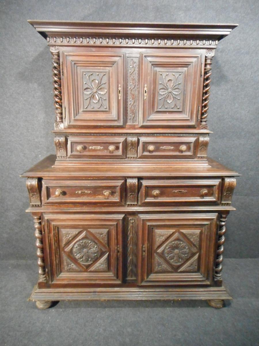 petit deux corps enti rement poque louis xiii autres meubles. Black Bedroom Furniture Sets. Home Design Ideas