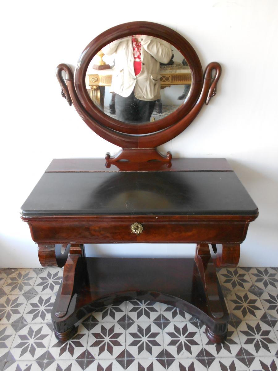 Empire Period Dresser In Mahogany