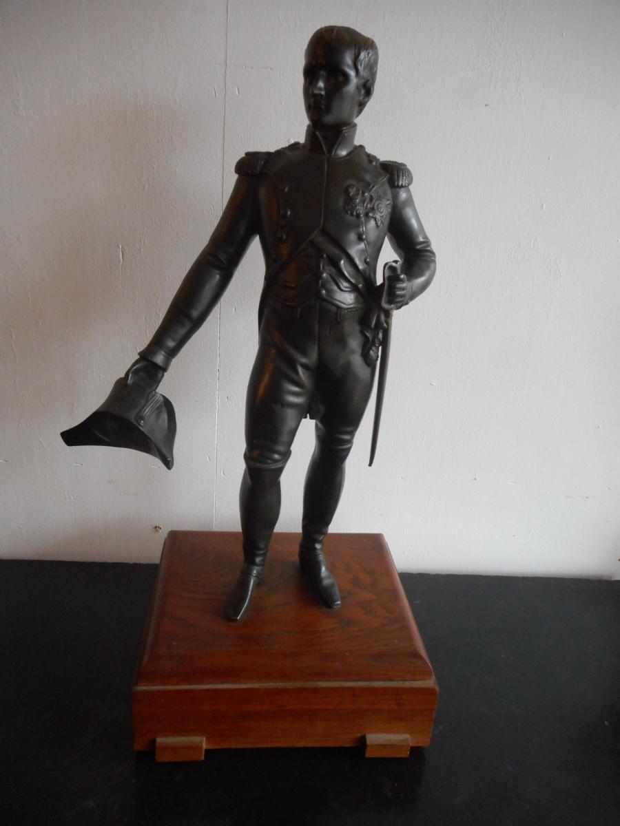 Statue En Bronze Napoléon époque XIXème