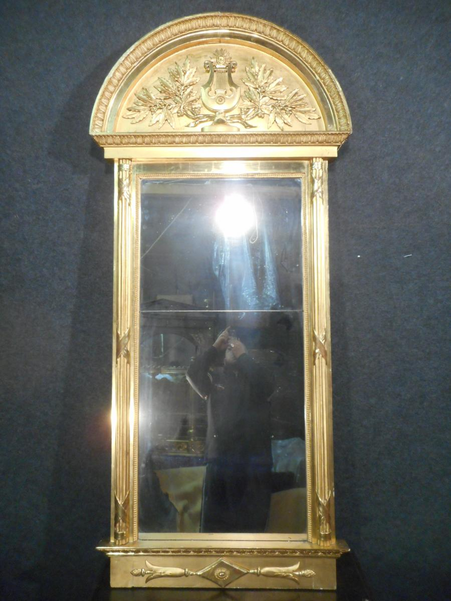 Mirror Gilt Wood Time Late Eighteenth