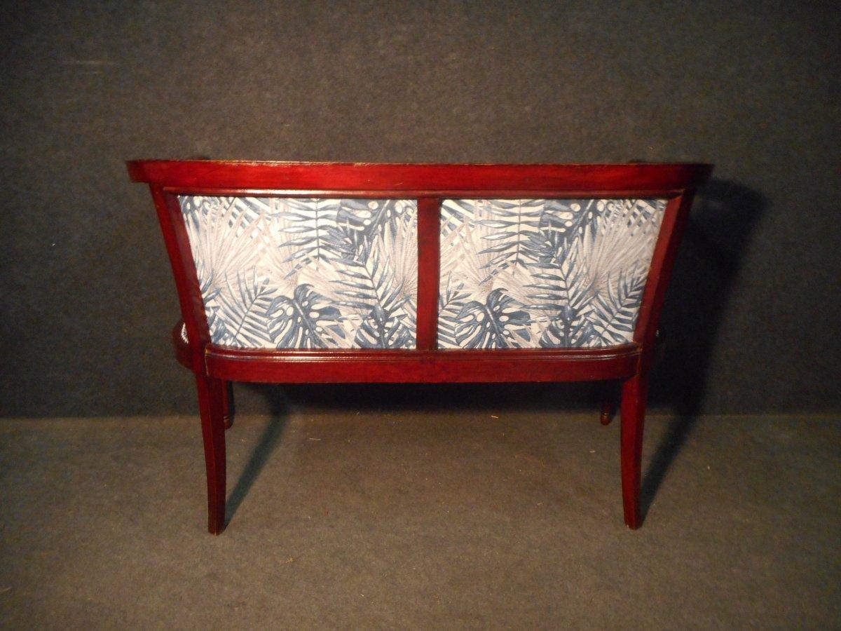 Mahogany Art Deco Period Living Room Set-photo-6