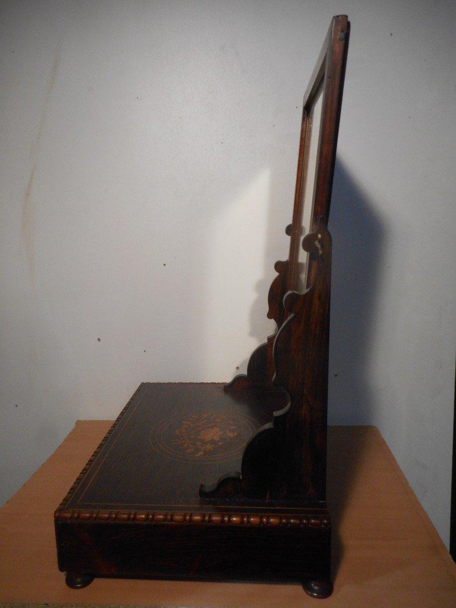 Coiffeuse De Table En Palissandre époque Début XIXe Estampillé -photo-7