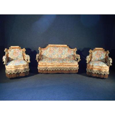 Exceptionel salon époque Napoléon III