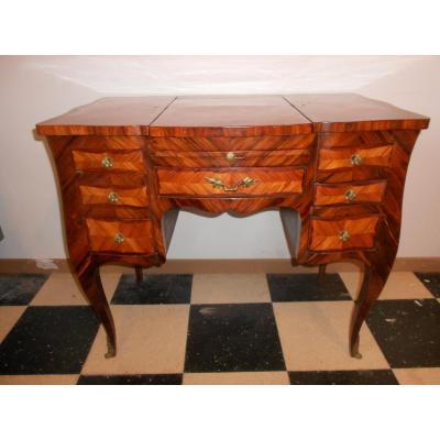 Dresser Marquetry Period XVIII Stamped