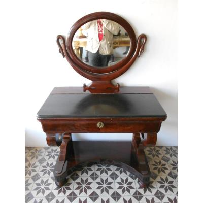 Empire Period Dresser In Mahogany