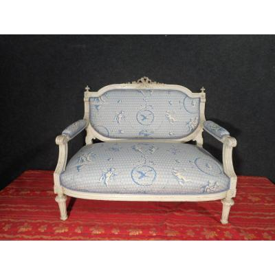 Small Lacquered Sofa Nineteenth Time