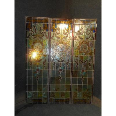 Stained Glass Series Art Nouveau