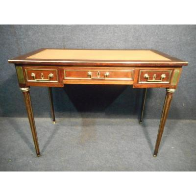 19th Century Mahogany And Gilt Bronze Desk