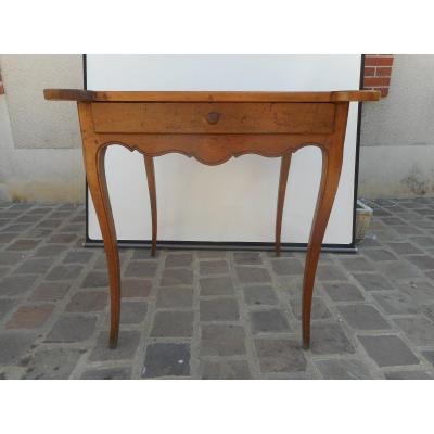 Table A Jeu En Noyer époque Louis XV