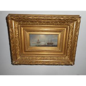 Peinture Marine de Gerarda Hermina Marius Eraud (1854-1919)