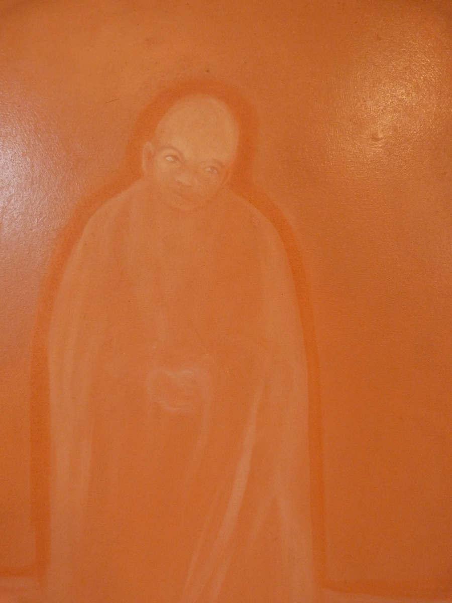 Moine Bouddhiste En Prière-photo-2