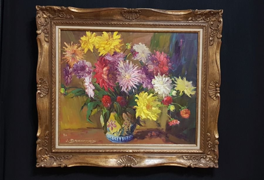 Bouquets Of Flowers By Jean Baconnais Twentieth
