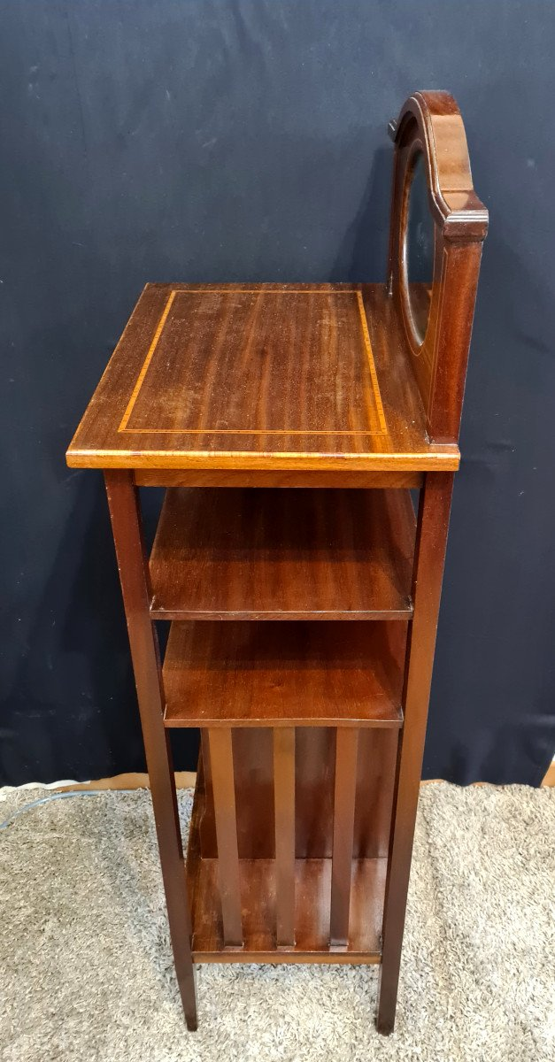 Table d'Appoint En Acajou XXème-photo-1