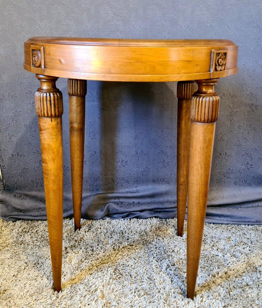Table d'Appoint Art Déco-photo-3