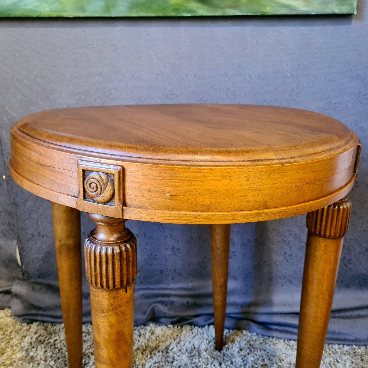 Table d'Appoint Art Déco-photo-4