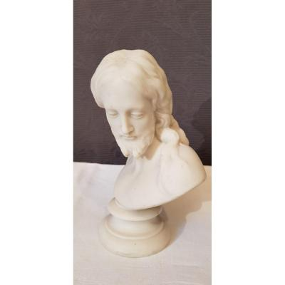 Small Bust In Biscuit Nineteenth