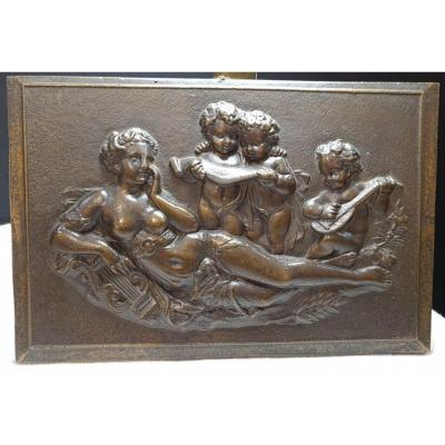 Bas Relief In Bronze Twentieth