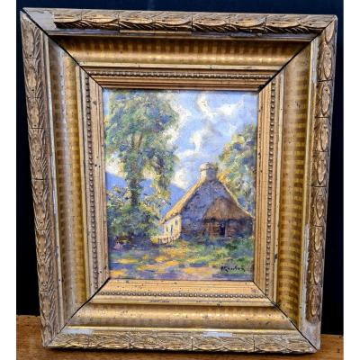 Small Painting Late 19th / Early 20th